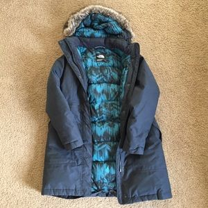 North Face Arctic Parka Navy